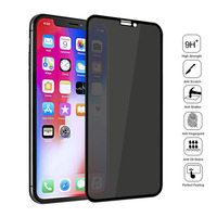 واقي شاشة مضاد للتجسس لهاتف iPhone ، فيلم حماية من الزجاج المقوى للخصوصية لـ iPhone 12 ، 11 Pro ، XS ، Max ، X ، XR ، 6S ، 7 ، 8 Plus