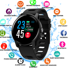 2019 New Men Smart Watch S08 Fitness Tracker Heart Rate Monitor Pedometer IP68 Waterproof Women Smartwatch For Android IOS Phone