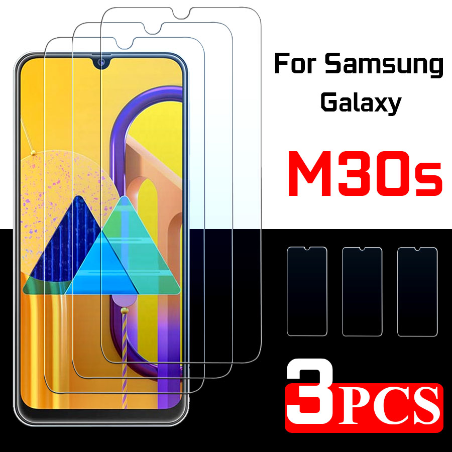 Protective Glass For Samsung M30s Screen Protector  M 30s M30 S  Armor Tempered Glas For Galaxy Galaxym30s Tremp Sheet 1 - 3 Pcs