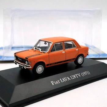 IXO 143 Fiat IAVA 128TV 1971 Diecast modele edycja limitowana samochodzik dla dziecka kolekcja Auto prezent