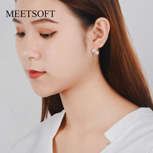 MEETSOFT 925 Sterling Silver P