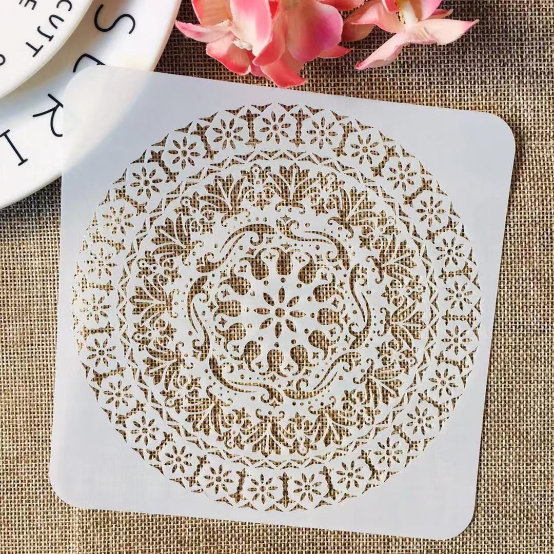 S M L Mandala Wheel Circle Totem DIY Layering Stencils Painting Scrapbook Coloring Embossing Album Decorative Template