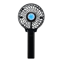 Portable Mini USB Fan Ventilation Foldable Air Conditioning Fans Hand Held Cooling Fan For Office Home Rechargeable Fan
