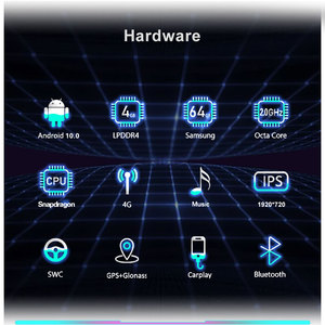 Image 3 - Snapdragon 8 Core מעבד 4 + 64G רכב מולטימדיה עבור BMW F25 F26 2011 2016 GPS רדיו אנדרואיד 10.0 WIFI BT IPS מגע 1920*720 4G LTE
