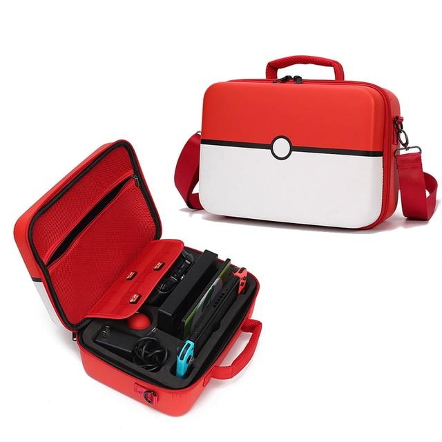 Pokeball 닌텐도 스위치 케이스 액세서리 Pokemons Nintendoswitch 스토리지 핸드 가방 Nintendos 패션 게임 Poke Ball Plus Bag