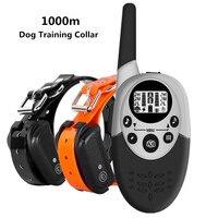 1000m Wasserdicht Hund Ausbildung Kragen Wiederaufladbare Anti Bellen Control Sound Erinnern Vibration Schock Empfänger 40% Off