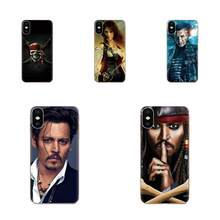 For Huawei Honor Mate 7 7A 8 9 10 20 V8 V9 V10 G Lite Play Mini Pro P Smart Soft 2017 New Arrival Pirates Of The Caribbean(China)
