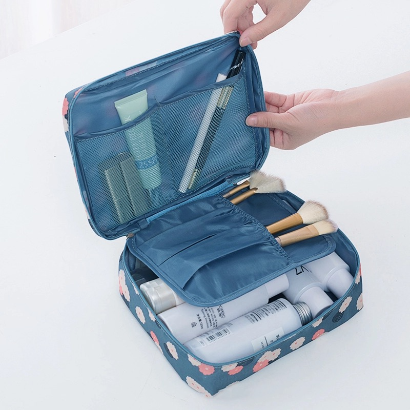 New Travel Toiletry Bag Men Women Cosmetics Storage Case Pouch Packing Organizer Portable Wash Cosmetic Bag Travel Accessories