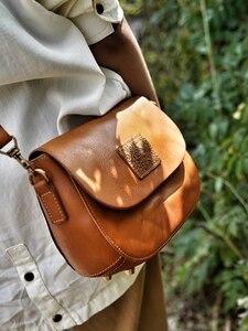 Винтажные Женские повседневные сумки на плечо из натуральной кожи, женская сумка через плечо, элегантные клатчи, небольшой квадратный паке...