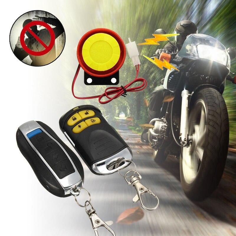 Auto Anti-Theft Alarm Car Anti-Theft Alarm Universal Anti-Theft Alarm Security System Motorcycle Remote Control 315MHZ Portable