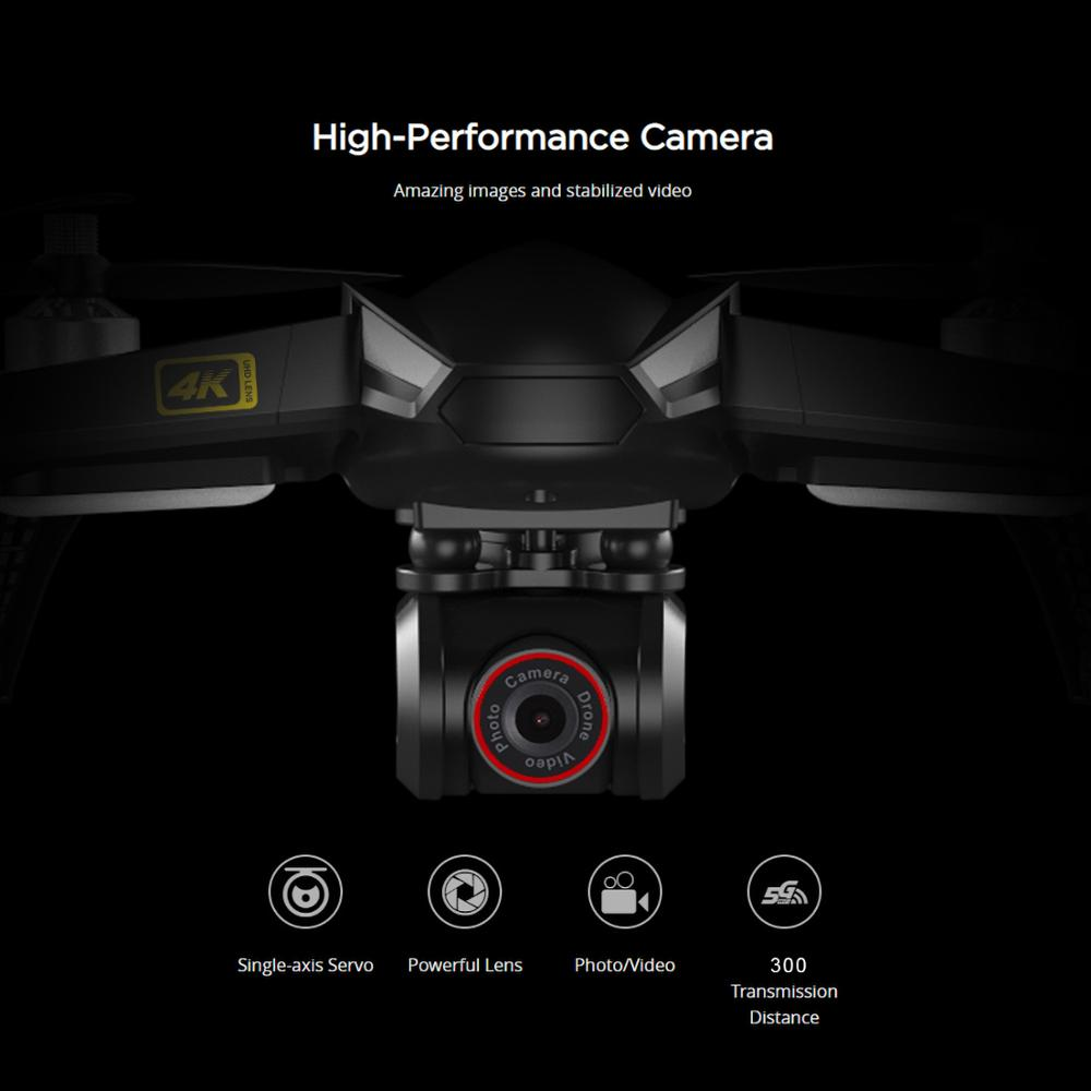 MJX Bugs 5W B5W Professional GPS RC Quadcopter with Camera 4K HD 5G Wifi Gesture Photo Brushless RC Drone VS H501S Pro MJX B4W 3