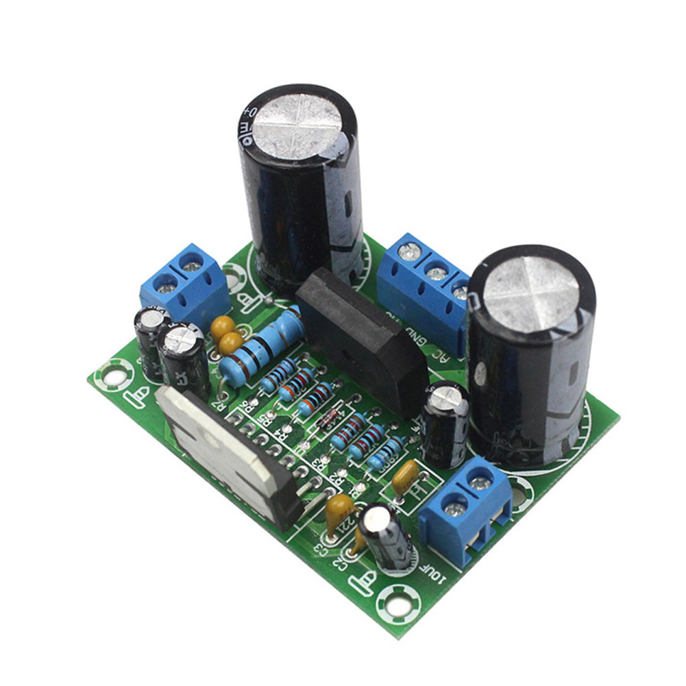 100W Home Amplifier Board Replacement Module Single Channel Sound Audio High Power Digital Easy Install Electronic Low Noise