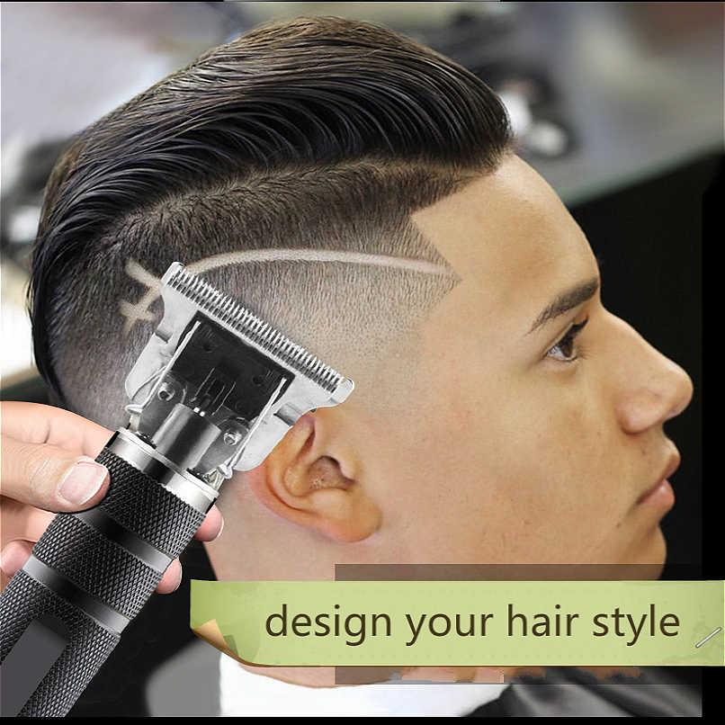 Cortadora de pelo profesional, cortadora de cara corporal, cortadora de pelo eléctrica para hombres, afeitadora de barba sin cable, cortadora de peluquero, maquinilla para cortar el pelo