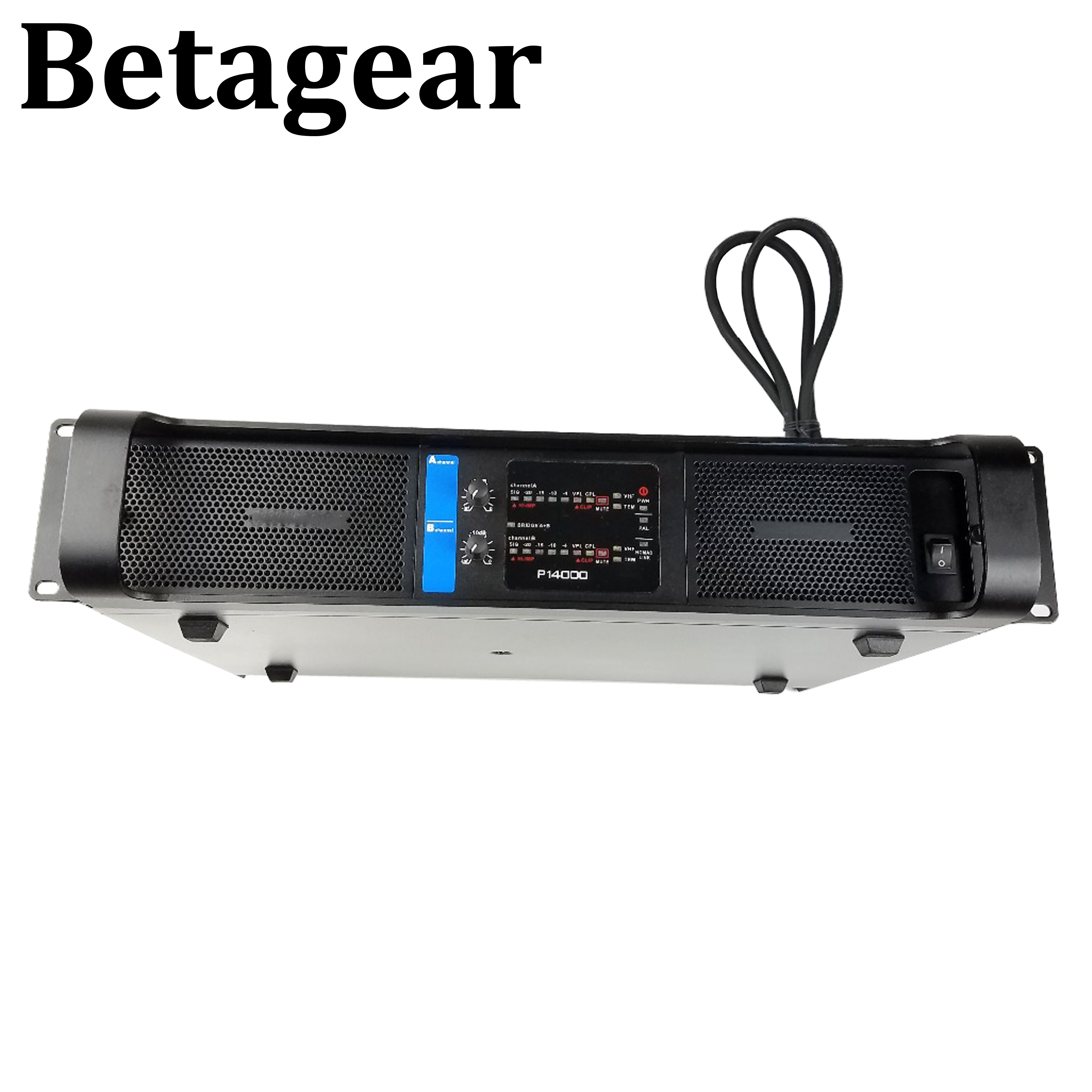 Betagear Professional amplifier 2350w x2 channel Power Amplifier subwoofer 14000q  professional stage audio power amplifier