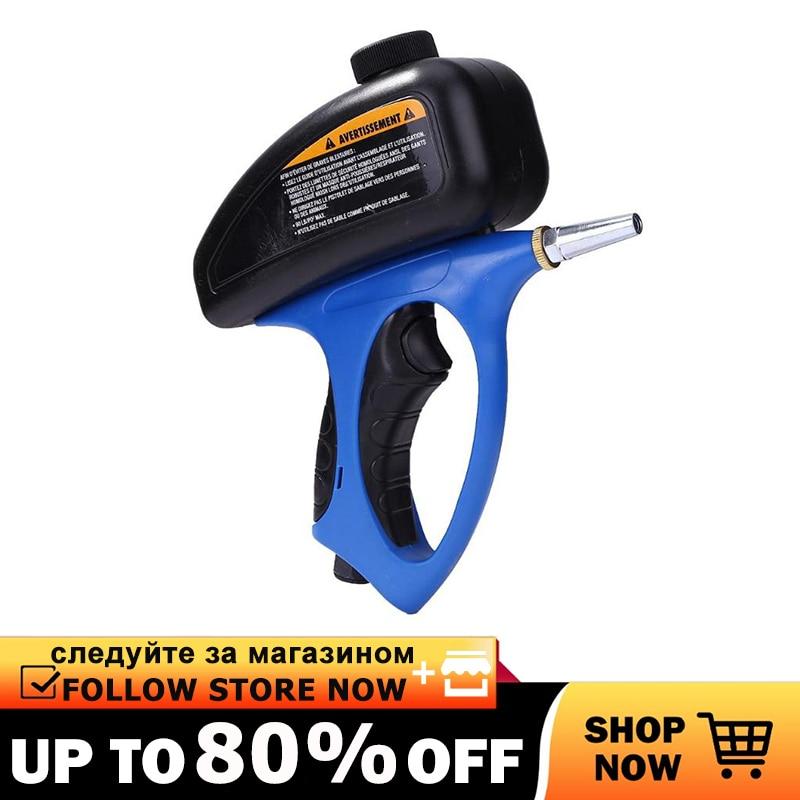 Sandblasting Gun Airbrush Portable Sandblast Gun Home DIY Pneumatic Adjustable Sand Blasting Blaster Flow Blasting DropShipping