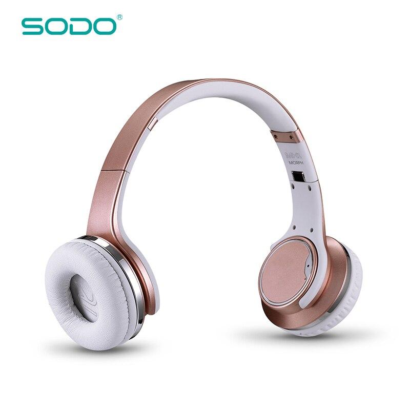 Hot Sale SODO Bluetooth Speaker Headphone MH1 Wireless Stereo TF Card headphone Comfortable Bluetooth Earphone