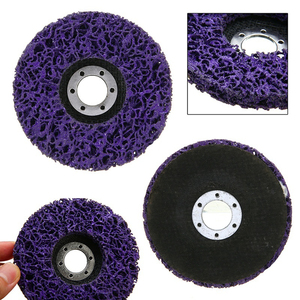 16mmPoly Strip Disc Abrasive Wheel Paint Coating Rust Removal Strip Remover Clean Grinding Angle Grinder Accessories