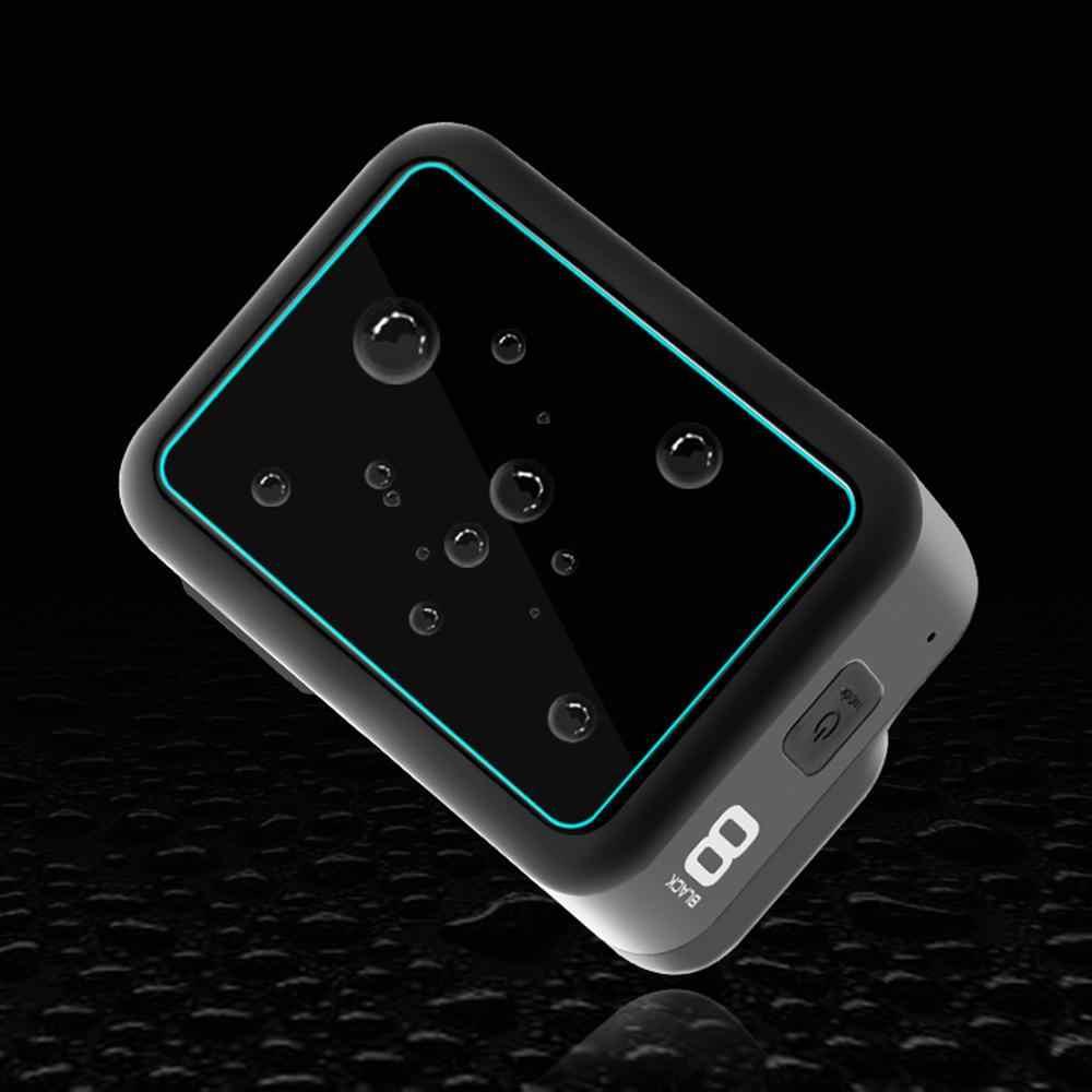 غطاء من السيليكون ل GoPro8 حافظة الإسكان ل Gopro الغطاء الواقي مع واقي للشاشة الزجاج المقسى لحقيبة Gopro8