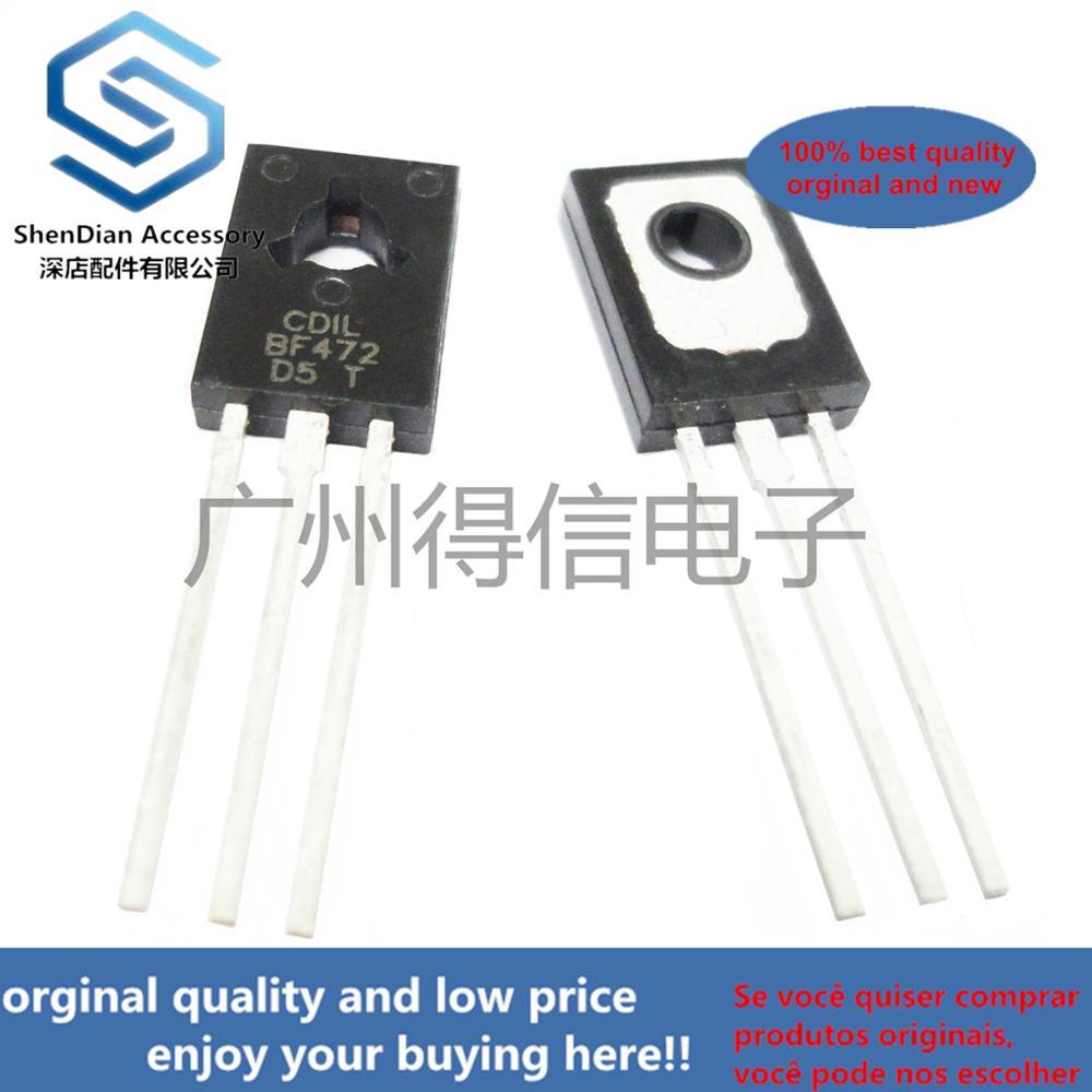 10pcs 100% Orginal BF472 472  TO-126 PNP High-voltage Transistors  Real Photo