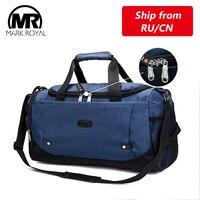 Многофункциональная Водонепроницаемая мужская дорожная сумка MARKROYAL, Противоугонный дизайн, дорожная сумка большой емкости, сумка для выхо...