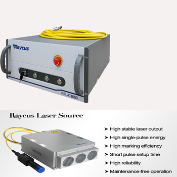 20W Raycus Q-switched Pulse 1064nm Fiber Laser Source Laser Generator For YAG Laser Metal Marking Welding Machine Accessories