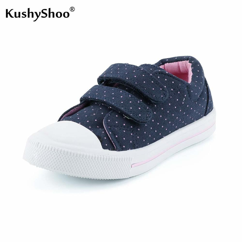 KushyShoo Children's Sneakers Outdoor Toddler Breathable Children's Canvas Shoes Boys Sport Sneakers Brand Kids Shoes For Girls