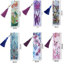 5D Diamond Painting Bookmarks Animal Bookmark for Home Office School DIY Making Arts Crafts Gifts Adults and Beginners