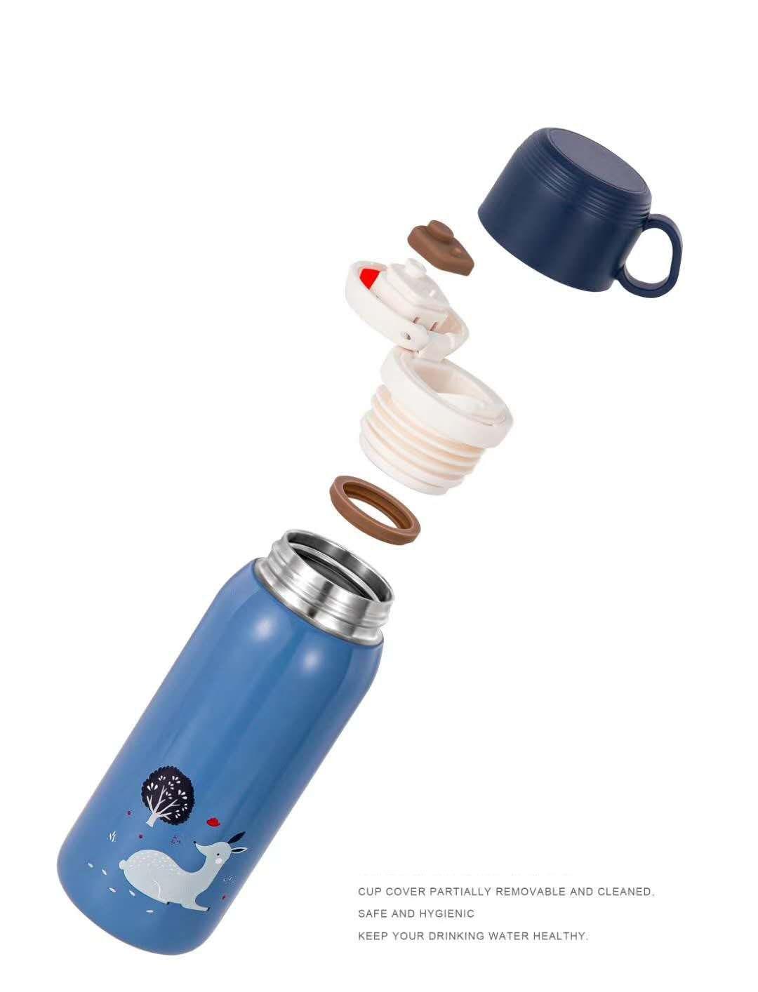 thermomug garrafa térmica do vácuo do diller