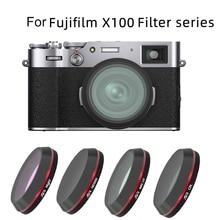 กล้องเลนส์อุปกรณ์กรองUV CPL ND64 ND1000กลางคืนสำหรับFujifilm Fuji X100V X100F X100T X100S X100ดิจิตอลกล้อง