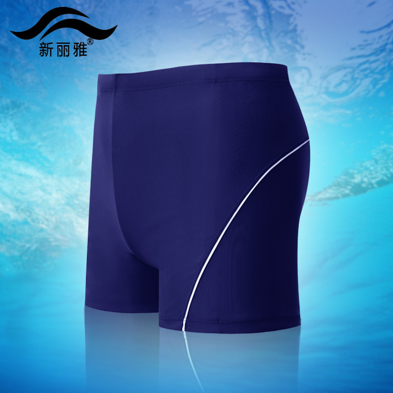 MEN'S Swimsuit Beach Boxers Quick-Dry Seaside Surfing Swimming Trunks Large Size Sports Hot Springs Tour Bathing Suit Swimming E