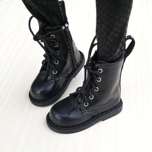 """Image 4 - BJD SHOES Black Boots Shoes Flates For 1/3 24"""" Tall Male BJD doll SD DK DZ AOD DD Doll Free shipping HEDUOEP"""