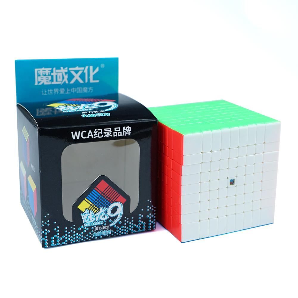 Original MoYu MF9 9x9x9 Cube Magic MofangJiaoshi Cube Meilong 9 Layers 9x9 Speed Puzzle Cubes Shape Twist Educational Toys