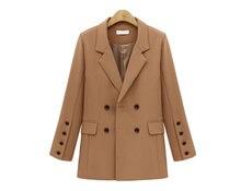 Fashion Womens Blazer Casual Long Autumn New Coat Suit Korean Style Women Clothes Bleiser Feminino Mujer 2019