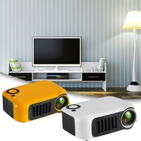 Mini Portable Projector 1080P LCD 50,000 Hours Lamp Life Home Theater Video Projector Support Power Bank for TV Box/XBOX/U Disk