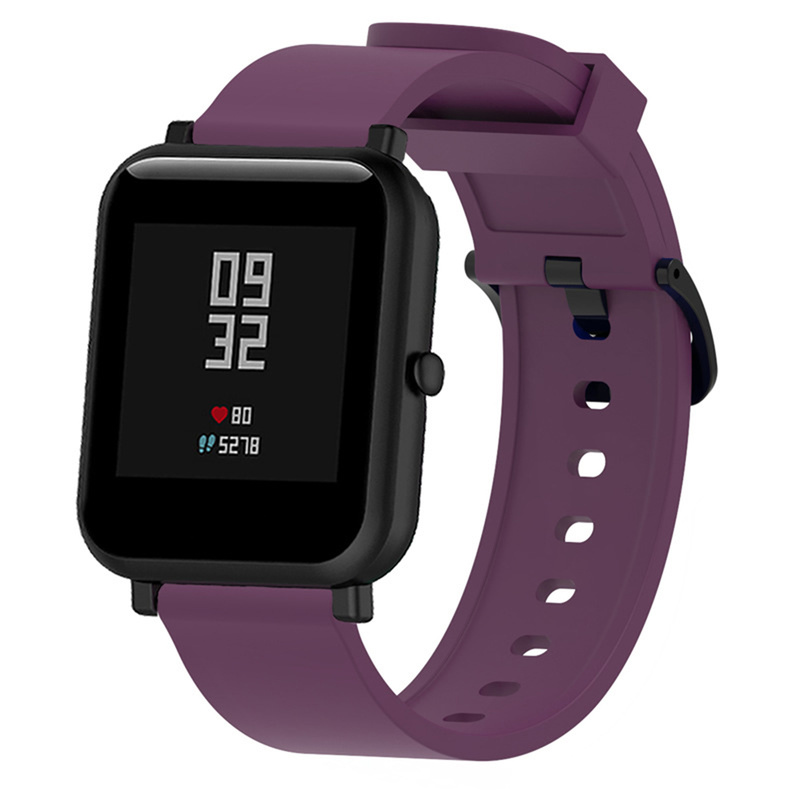 Silicone-Sport-Strap-for-Xiaomi-Huami-for-Amazfit-Bip-Smart-Watch-20MM-Replacement-Band-Bracelet-Smart (3)