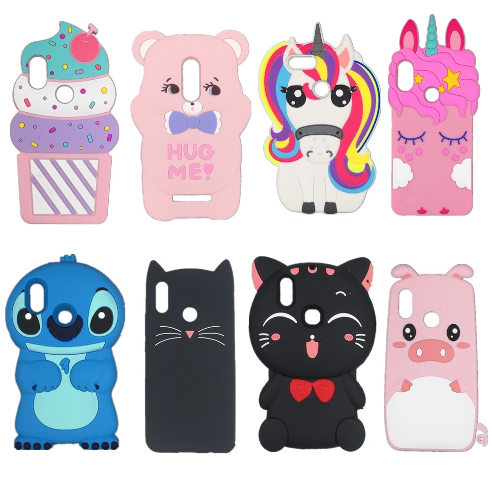 Cover-Case Xiaomi 3d Cartoon Redmi Soft-Silicone Note 3 Kawaii Plus 6A For 5x6x/Redmi/3-3s/..