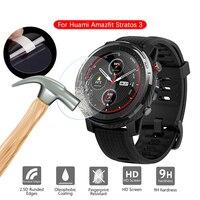 Protector de pantalla de vidrio templado, película protectora para Xiaomi Huami AMAZFIT Stratos 3, reloj inteligente deportivo GPS Stratos3