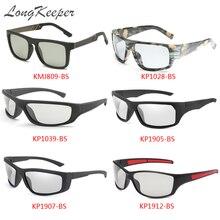 Longkeeper классические брендовые квадратные фотохромные солнцезащитные