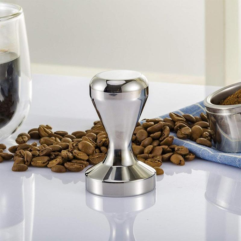 49mm/51mm/58mm Stainless Steel Coffee Pressed Coffee Tamper Coffee Hammer For Semi-automatic Coffee Machines