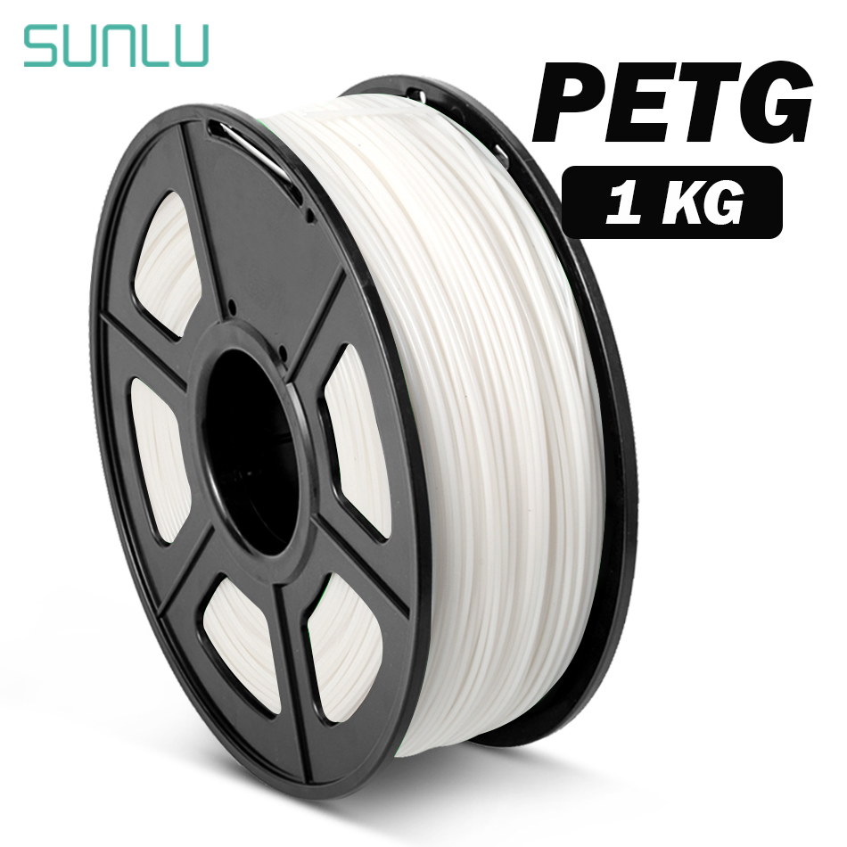 PETG 3D Printer Filament 1 75mm Dooling Gift Material Hot Sale Black Color PETG 3D Filament Consumables 1KG 2 2LBS