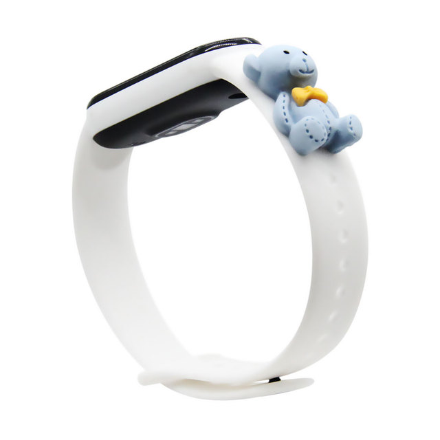 Cartoon Strap For Xiaomi Mi Band 5 6 for Smart Watch Wrist M3 M4 Bracelet For Xiaomi MiBand 5 6 for Mi band 4 Strap Replacement 6