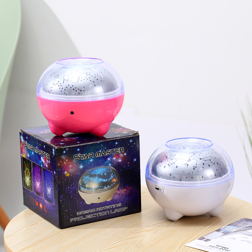 Romantic Starry Sky Projection Light Bluetooth Speaker Night Lamp With Remote Control Colorful Automatic Rotation Projector Lamp