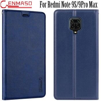 For Redmi Note 9S Flip Case for Redmi Note 8T 7 8 9 PRo Max K30 Card Slot Case for Xiaomi Mi 10 Lite 10 Pro Flip Leather Case