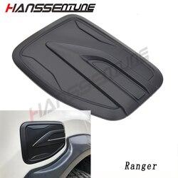 Hanssentune 4X4 1 Pc Gas Tank Cover ABS Plastic Matte black Tank Cap For RANGER T6 T7