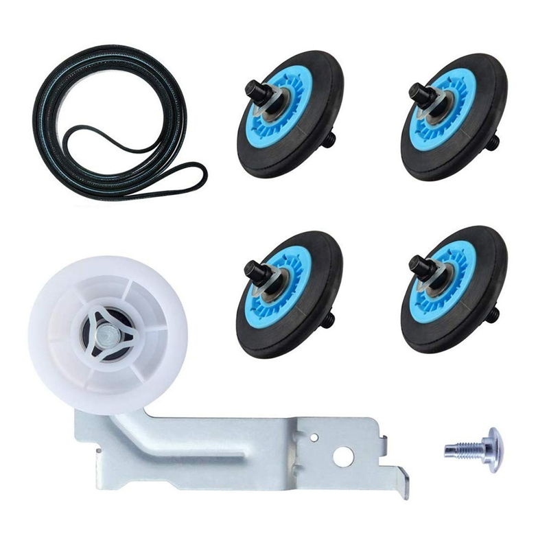 DC97-16782A Dry Washing Machine Wheel Set Dryer Repair Kit For Samsung Dryer Belt Dryer Kit