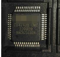 2 unids/のlote CS42438 DMZR CS42438 DMZ CS42438 icコーデック108DB 192 125khz 52 MQFP