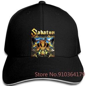 Sabaton Carolus rex черная Большая распродажа Новая Регулируемая Кепка s бейсбольная кепка для мужчин и женщин