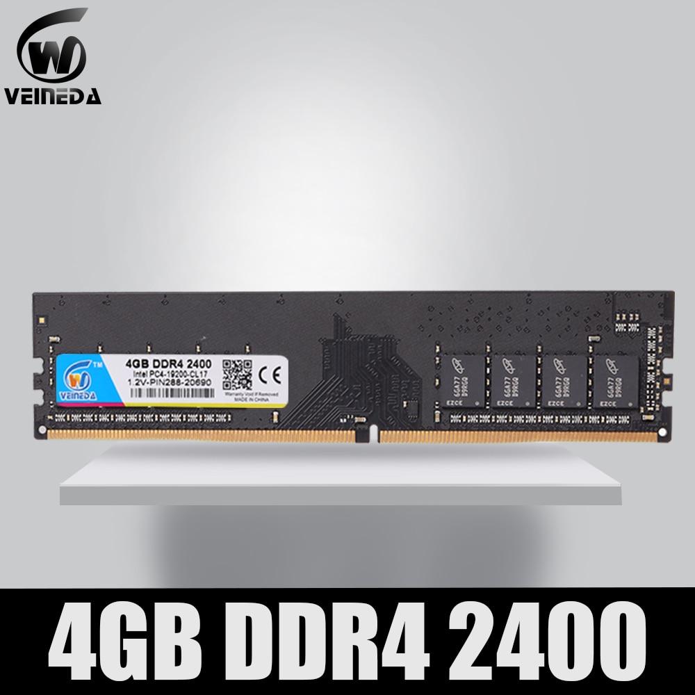 pc4 17000 ddr4 2133 mhz - VEINEDA Dimm Ram DDR4 4GB PC4-17000 Memory Ram ddr 4 2133 For Intel AMD DeskPC Mobo ddr4 4 gb 284pin