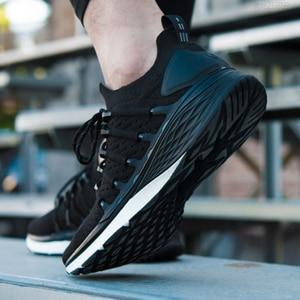 Image 3 - 2019 mi mi jia Xiao mi Schuhe 3 3th Männer Sport Turnschuhe Atmungsaktivem Licht Smart Schuhe Outdoor Sport Goodyear gummi