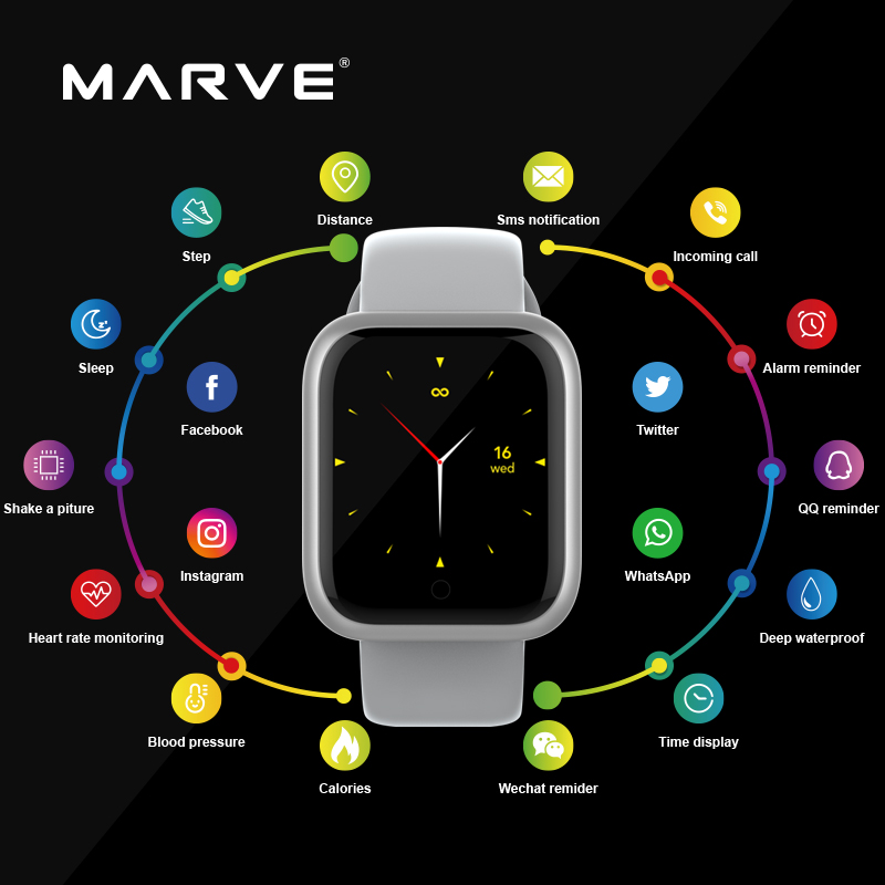 2020 Smart Watch Men Smart Watches Women Smart Watch Android ios Reloj Inteligente Reloj Inteligente Mujer Iwo GT1